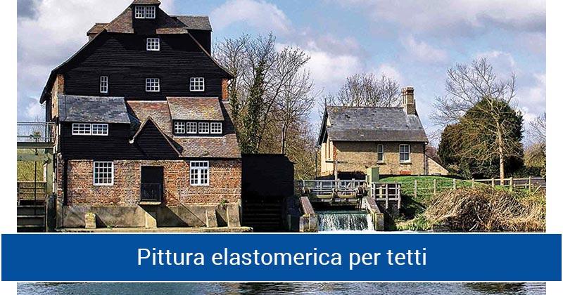 Pittura elastomerica per tetti